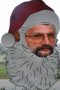 Jeden z naszych członków w roli św.Mikołaja