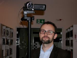 Maciek zadbał o rejestracje audiowizualną spotkania.