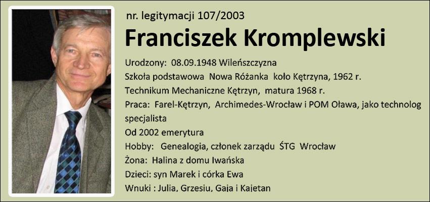 Franciszek Kromplewski