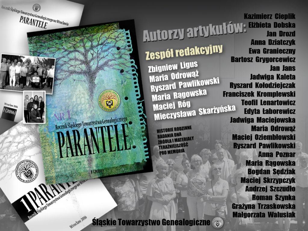 Parantele 1: redakcja i autorzy