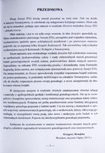Słowo wstępne autorstwa Grzegorza Mendyki