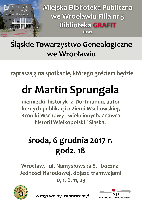 Zaproszenie Grudzień 2017 śląskie Towarzystwo Genealogiczne We